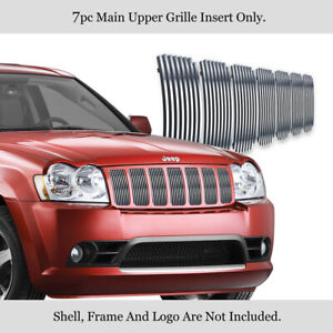 For 2006 2008 Jeep Grand Cherokee Stainless Steel Billet Grille Insert