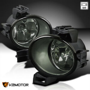 Smoke Fog Lights Bumper Lamps switch bulbs For 2005 2006 Nissan Altima