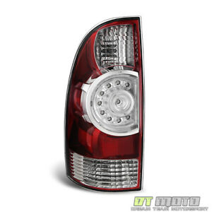 For 2009 2015 Toyota Tacoma Factory Style Led Tail Brake Light Left Driver Side