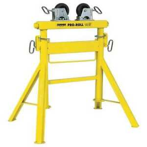 Roller Head Pipe Stand 1 2 To 36 In Sumner 780443
