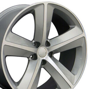 Oew 20 Rims Fit Dodge Challenger Charger Chrysler 300 Srt Silver Mach D 2357