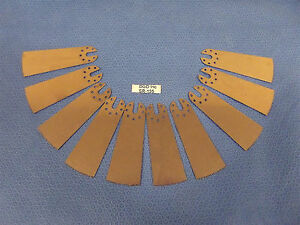 Lot Of 10 Surgical Oscillating Saw Blades 3 1 2 Total Length 1 1 4 Wide sr134