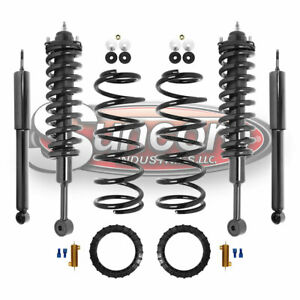 For 2010 12 Lexus Gx460 Front Rear Air To Coil Springs Struts Conversion Kit