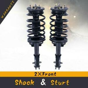 Front Shock Absorber Strut Spring Left Right Pair Set For Ford Mustang