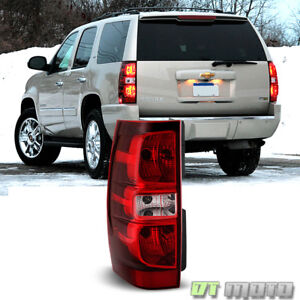 2007 2014 Chevy Suburban 1500 2500 Tahoe Tail Light Brake Lamp Driver Left Side