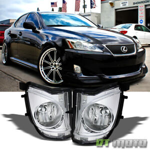 For 2006 2010 Lexus Is250 Is350 Bumper Fog Lights Lamp Left right 06 07 08 09 10