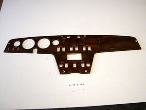Lotus Walnut Burl Dashboard Elan Ser 4 Sprint L S4 S 107