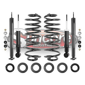 2003 2011 Ford Crown Victoria Front Rear Shocks Rear Coil Spring Conversion