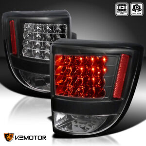 For 2000 2005 Toyota Celica Black Rear Brake Led Tail Lights Lamps Left right