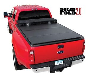 Extang Solid Fold 2 0 Hard Folding Tonneau Cover With Toolbox 6 9 Bed 84720