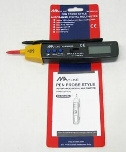 Ma line Pen Probe Style Autorange Digital Multimeter Ma em3213a