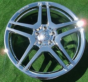 New Chrome Oem Factory Forged Amg Mercedes Benz S65 20 Inch Wheels S550 S63 Cl63