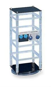 For Sale Earring Rotating Jewelry Display Rack 13 High clear black