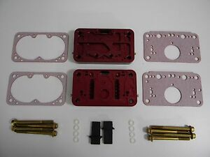 Holley Qft Ccs 1450 Red Pro Billet Metering Block 3 Circuit 5 Emulsion 4500 4700
