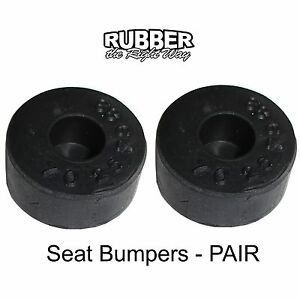 1958 1959 1960 Buick Seat Bumpers Pair