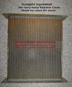 Ab4666r New Radiator Core For John Deere Tractor 50 520 530 Cooling System