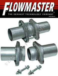 Flowmaster 15930 Exhaust Header Collector Ball Flange Kit 3 To 3