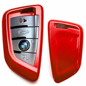 Exact Fit Glossy Red Smart Key Fob Shell Cover For Bmw X1 X4 X5 X6 5 7 Series