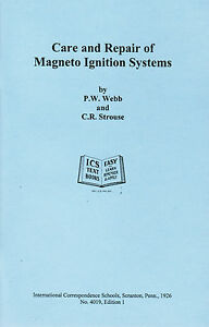 Care Repair Magneto Ignition Systems Book Manual Hit Miss Buzz Coil Gas Engine