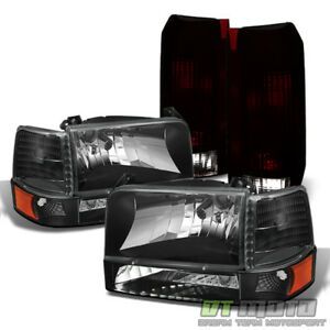 1992 1996 Ford F150 F250 F350 Bronco Headlights Corner Signal Lamps tail Lights