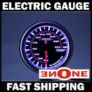 52mm Mk1 Black Face Transmission Oil Temperature Trans Temp Gauge T L1