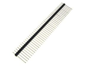 40p 40 pin 2 0mm Single Row Straight Header H17mm Pack Of 5