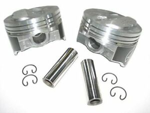 Speed Pro H634cp30 Small Block Chevy 400 406 200 Dome Hyper Pistons 030 Sbc 5 7