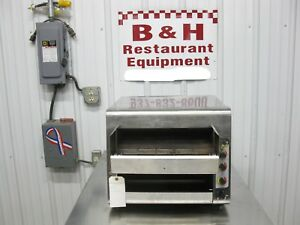Holman High Volume Conveyor Bagel Bread Oven Toaster Qcs 3