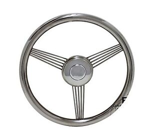 14 Foreversharp Stainless Steel True Banjo Steering Wheel