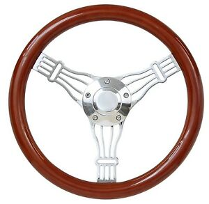 Brand New 14 Light Discord Banjo Steering Wheel Vintage Styling