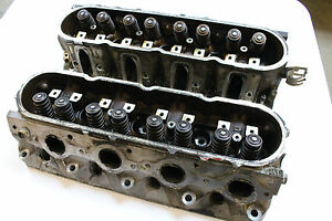 Gm Ls1 241 Casting Cylinder Heads Pair Used Oem Gm Damaged