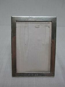 Tiffany Co Sterling Silver Standing Picture Frame 4 X 5 1 2