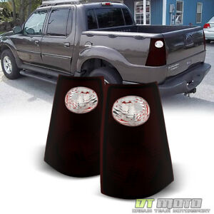 Red Smoke 2001 2005 Ford Explorer Sport Trac Tail Lights Lamps 01 05 Left right