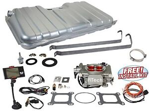 62 67 Nova Fitech Fuel Injection 30003 Go Street 400 Hp Basic Conversion Kit