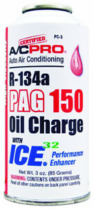 Interdynamics Pc3 R134a Pag 150 High Viscosity Oil Charge With Ice 32 3oz