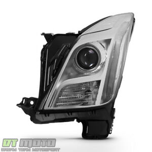 Driver Side 2013 2015 Cadillac Xts Hid Xenon Non Afs Led Headlight Replacement