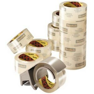 3m 3m6635 Scotch Premium Heavy Duty Packaging Tape Bonus Pack Bp 6 6635 New