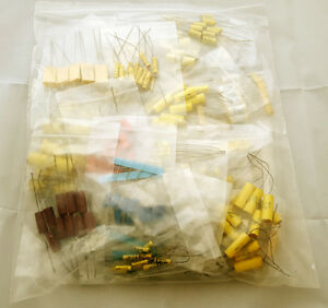 Axial Film Capacitor Assortment 270 Piece Kit New Lot