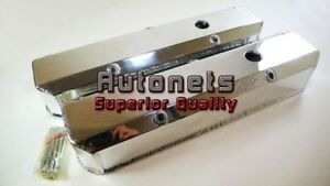Small Block Sb Chrysler Mopar Polish Aluminum Fabricate Valve Cover 318 340 360