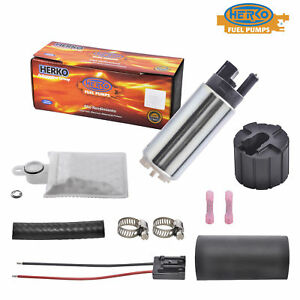 New Electric Fuel Pump Herko Automotive K9171 255 Lph 500 Hp Replace Gss341