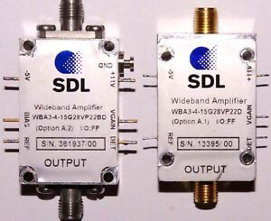 Sdl Wba3 4 15g28vp22bd 15ghz Fiber Optical Modulator Driver
