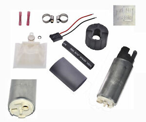 Walbro Gss341 255lph High Psi Flow Fuel Pump Universal Installation Kit