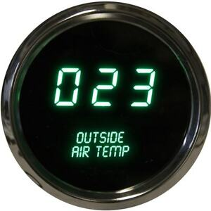 Intellitronix Led Digital Outside Air Temperature Gauge 2 1 16 Ms9123g