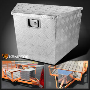 29 Heavy Duty Aluminum Tool Box Truck Storage Underbody Truck Trailer Tongue