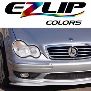 The Original Ez Lip Colors Silver Universal Body Kit Air Spoiler Ezlip Easy