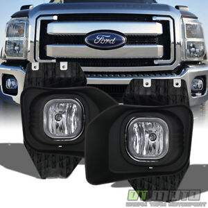 2011 2016 Ford F250 F350 F450 Superduty Fog Lights Driving Lamp 11 16 Left right