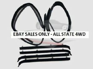 6 Piece Rubber Door Window Weatherstrip Seal Kit For 75 96 Chevy Full Size Van