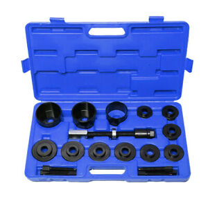 19pc Master Set Front Wheel Drive Bearing Removal Install Service Tool Kit