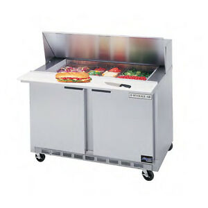 Beverage air 36 Cutting Top Refrigerated Sandwich Prep Table W 8 Pans