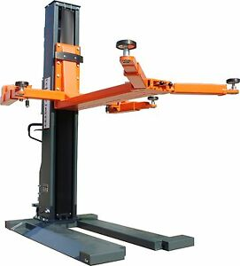 Stratus Single Post 5500 Lbs Capacity Electrical Safety Lock Release Car Lift